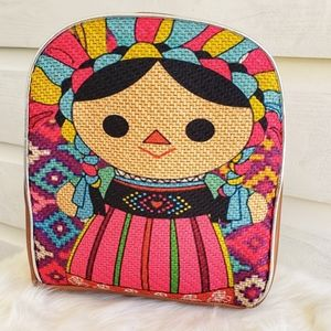 Other - Doll Otomi Woven Backpack Bag